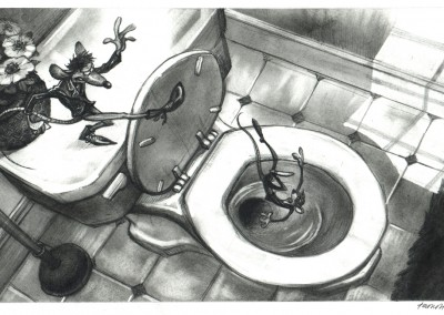 flushed away visual development 5