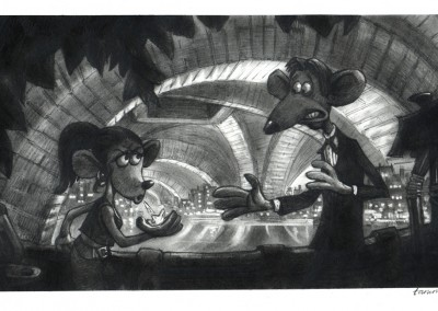 flushed away visual development 6
