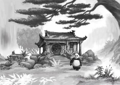 Kung Fu Panda concept art 3