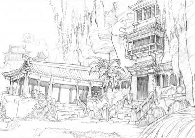 Kung Fu Panda concept art 7