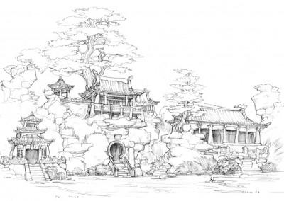 Kung Fu Panda concept art 9