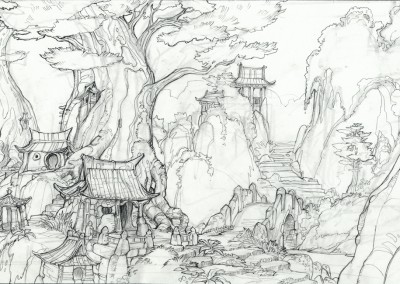Kung Fu Panda concept art 10