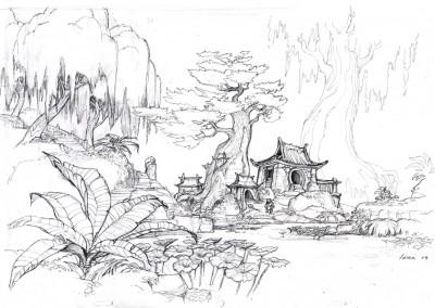 Kung Fu Panda concept art 11