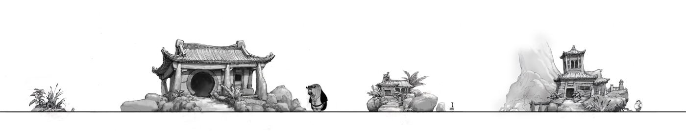 Kung Fu Panda concept art 12