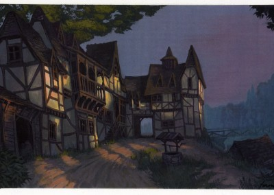Shrek visual development, concept art 6