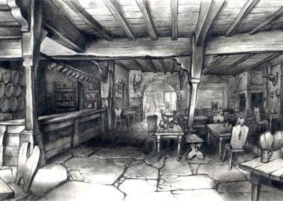 Shrek visual development, concept art 10