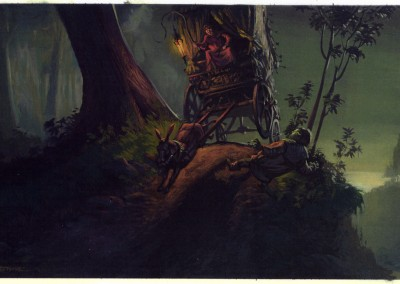 Shrek visual development, concept art 35
