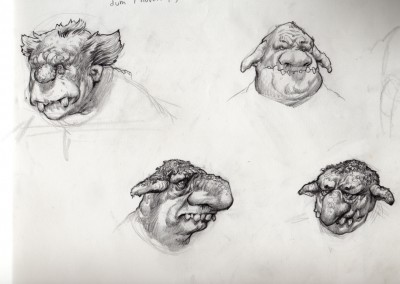 Shrek visual development, concept art 42