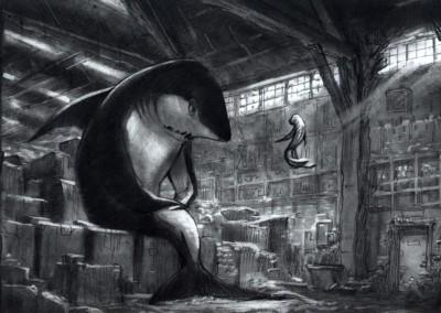 Shark Tale concept art 12
