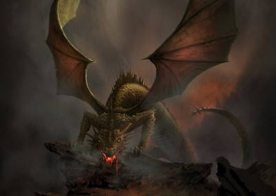 Dragon (Vidunder) h 40 w 27.5