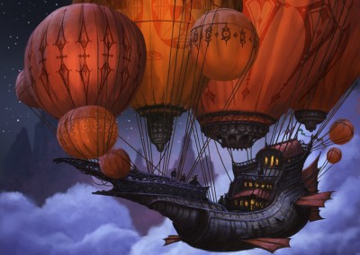 Air balloon (Ninja Timmy) h 40 w 27.5